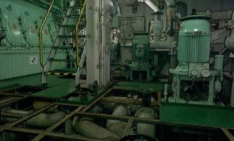 Engine room 3D Scanning