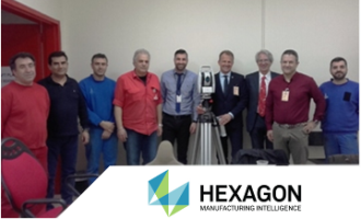 Hellenic Aerospace Industry S.A.  invested in the purchase of the Leica Absolute Tracker AT403.